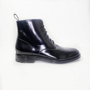 Gordon Rush Patent Leather Lace Up Boot Size 11